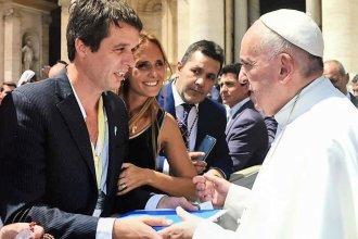 El intendente de Concordia recibirá el Poliedro de la Paz, una distinción inspirada en el mensaje del Papa