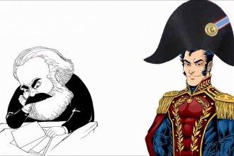 Desde Simón Bolívar a Nicolás Maduro a través de Carlos Marx