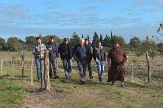 Padre Lamy, el paraje entrerriano donde 44 profesionales participan de un proyecto de reconversión agropecuaria