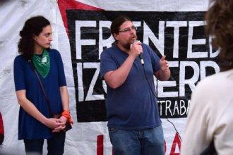 """Pidiendo """"más izquierda"""" en el cierre de campaña, Burgos y Meiners hablaron de Chile y Ecuador"""