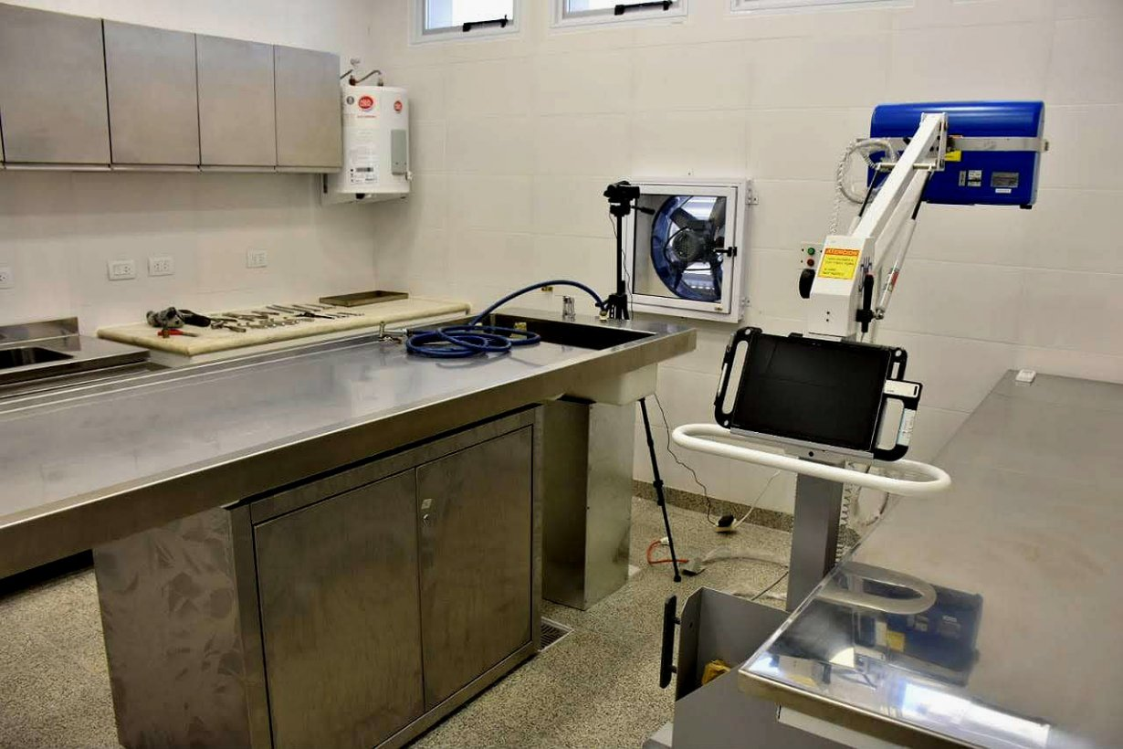 Las nuevas instalaciones en el Hospital Heras