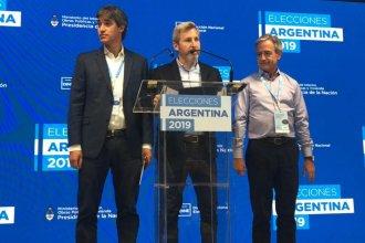 """Frigerio: """"Ganamos la provincia, es un enorme orgullo con lo que significa en términos de legisladores"""""""
