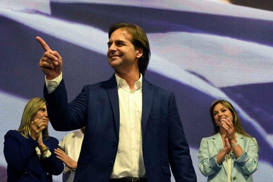Luis Lacalle Pou sacó el 28,2%.