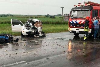 Dieron a conocer el parte médico de los sobrevivientes del choque fatal en la Autovía