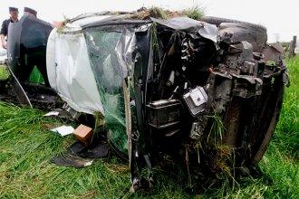 Distracción desencadenó un violento accidente en ruta entrerriana