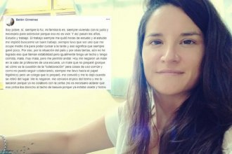 El triste descargo de una docente a la que le negaron un mate por no poder colaborar con la yerba