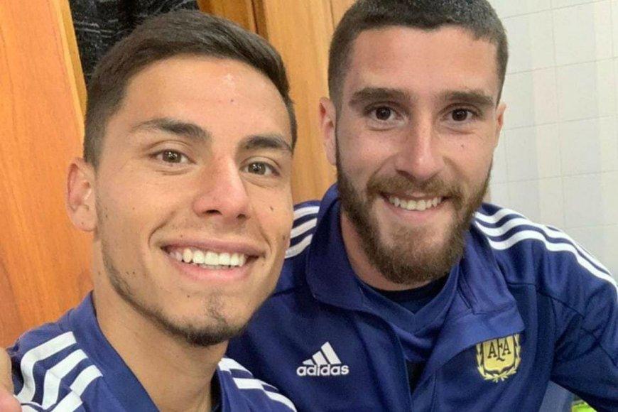 Robertone y Senesi, claves en la selección sub 23.