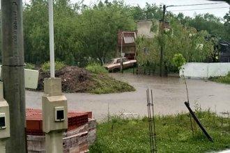 Trabajadores de la carne quedaron rodeados: terraplén protege de las crecientes, ¿pero encierra el agua de lluvia?