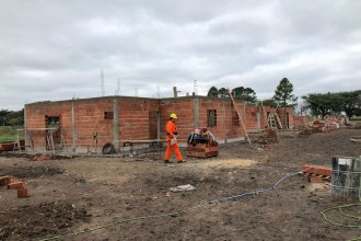 Construyen 25 nuevas viviendas en la costa del río Uruguay