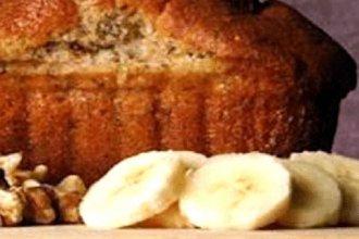 Budín de bananas y ron