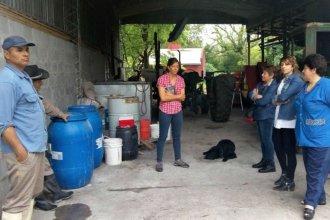 Mostraron a vecinos y comunidad educativa cómo se cultivan pecanes en forma agroecológica