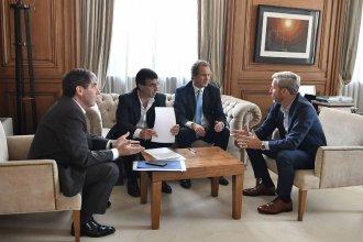 Para financiar obras provinciales, Bordet se reunió con Frigerio y solicitó fondos