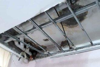 """El director del Hospital Felipe Heras admitió que hay goteras: """"Es un edificio de 120 años"""""""