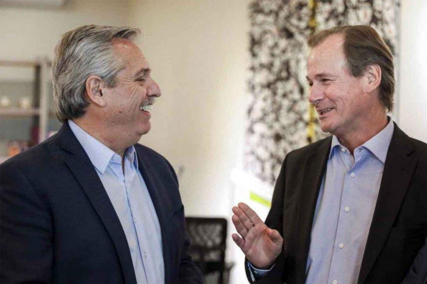 Alberto y el gobernador hablaron de lo que viene.
