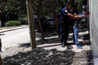Malabarista fue detenido por hurto en flagrancia