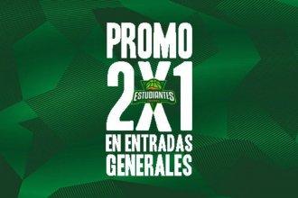 """Al """"Gigante Verde"""" van 2 y paga 1 la entrada en el estreno de la Liga Nacional"""