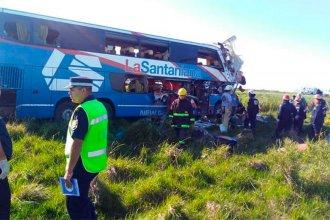 """Tragedia en la autovía: """"El chofer dice que no se durmió"""""""