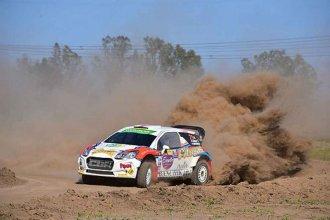Ganó Ligato y un entrerriano se subió al podio en el Rally de Concepción del Uruguay