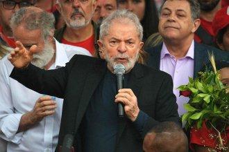 """""""Quisieron matar las ideas"""", dijo Lula. Pero no pudieron"""