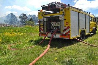 Otro incendio afectó al Parque Industrial de Concordia