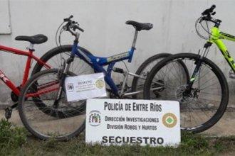 Desarticularon banda que robaba bicicletas de alta gama en Santa Fe y Paraná y las llevaba a Chajarí