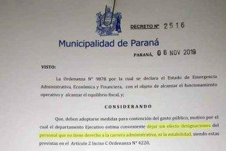 Uno por uno, la lista de los 35 funcionarios políticos que cesaron en sus cargos por orden de Varisco