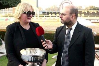 Es de Entre Ríos la primera entrenadora mujer que ganó el Gran Premio Nacional de Turf