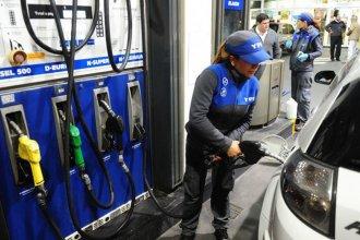 En la capital entrerriana el litro de nafta premium ya cuesta más de $62 pesos