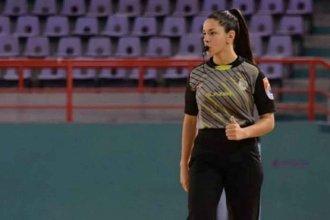 Noelí tiene 22 años y debutará como árbitro en la Liga Entrerriana de Mayores