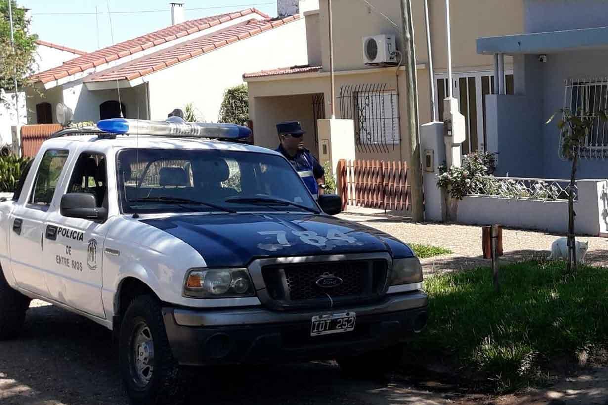 El despliegue policial impactó en la ciudad