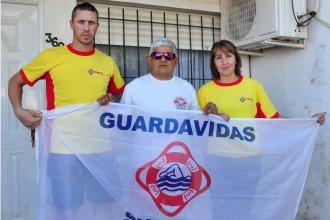"""""""Lo primero es formar profesionales que cuiden las playas"""", dicen desde la Delegación Colón del Sindicato de Guardavidas"""