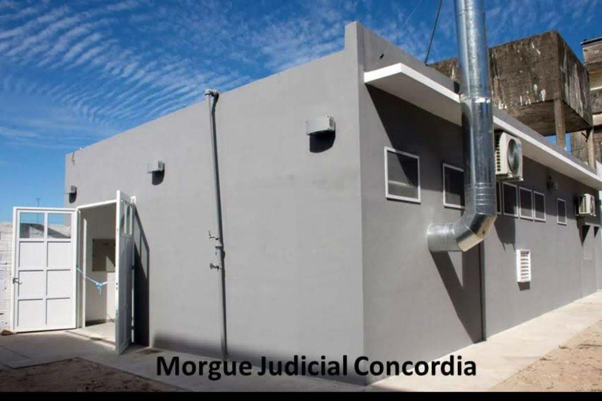 La morgue en Concordia.