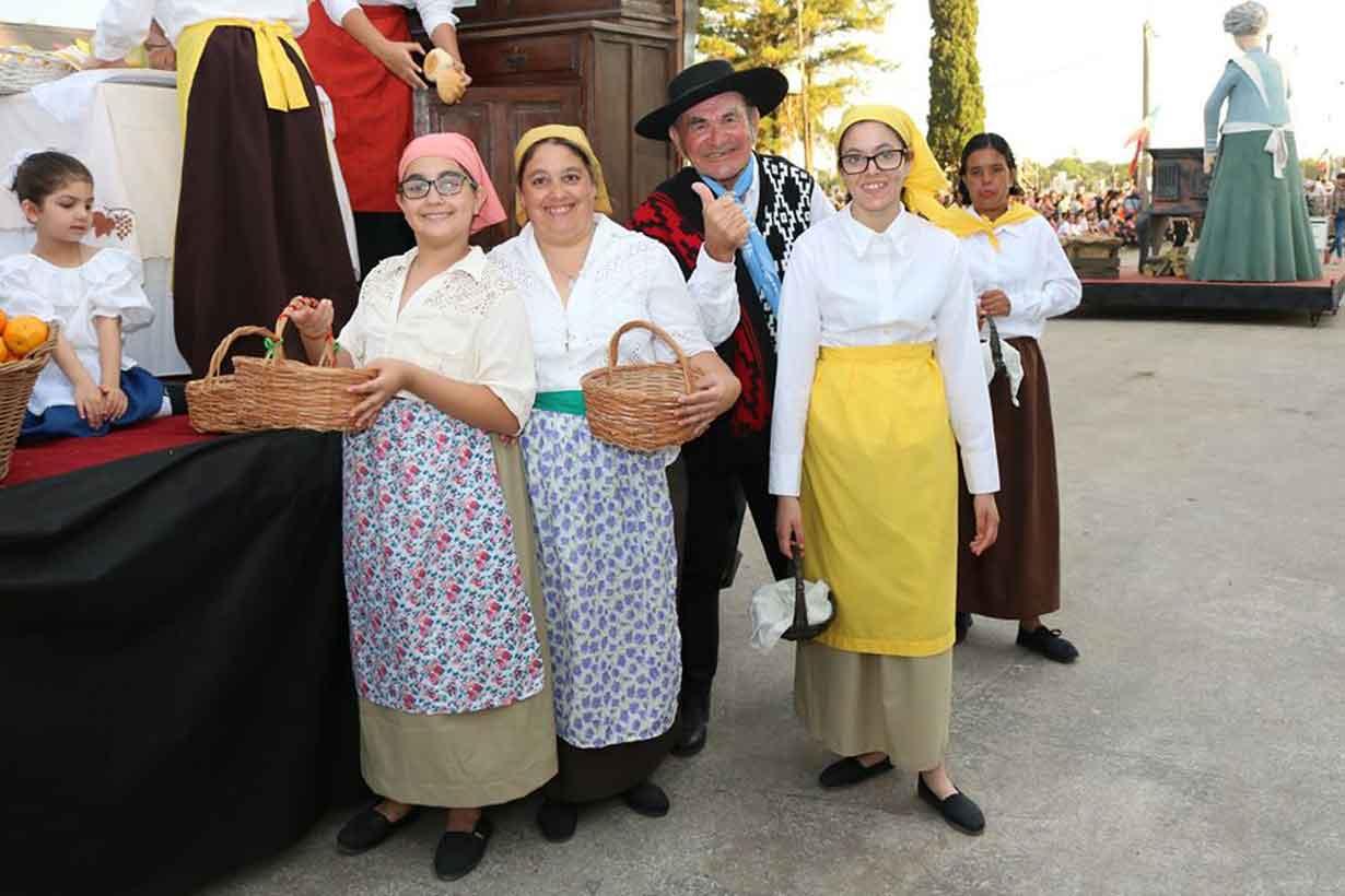 San José evocó a la mujer en la colonia, en la 34° edición de la Fiesta Nacional de la Colonización - Elentrerios.com