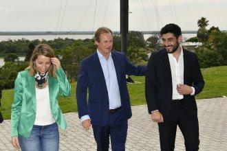 Para dialogar sobre políticas de deportes, Bordet recibió al diputado nacional Facundo Moyano
