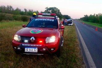 Una mujer murió y un hombre resultó herido, tras un accidente en Ruta 12