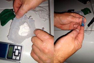 Tres personas fueron detenidas vendiendo cocaína en un balneario entrerriano
