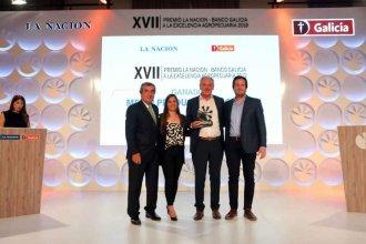 La empresa Tierra Greda, de Atilio Benedetti, recibió el premio a la excelencia agropecuaria