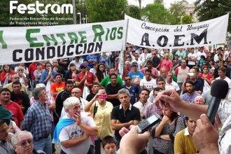 Los Municipales amenazan con paralizar la Provincia ante el intento por restringir las huelgas