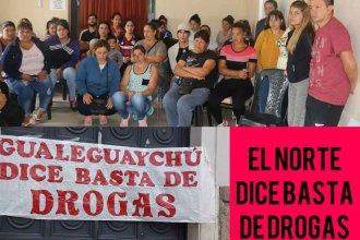 El barrio que declaró la guerra a las drogas junta firmas para presentar a la Justicia