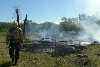 Para prevenir incendios, prohíben realizar quemas en el territorio entrerriano