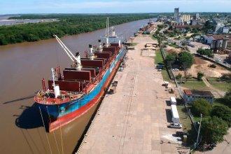 Una nueva exportación de madera, a punto de consumarse desde dos puertos entrerrianos