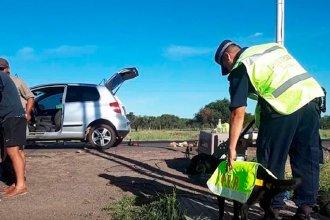 Un hombre quedó detenido tras intentar ingresar a la provincia con 22 kilos de droga ocultos en su auto