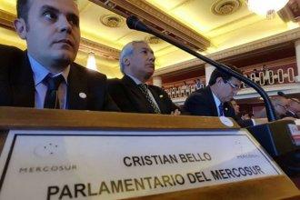 Mientras el entrerriano termina su mandato, hay incertidumbre por la continuidad argentina en el Parlasur