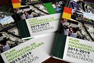 Plan Provincial de Obras Públicas: una publicación oficial resume sus resultados en cuatro años