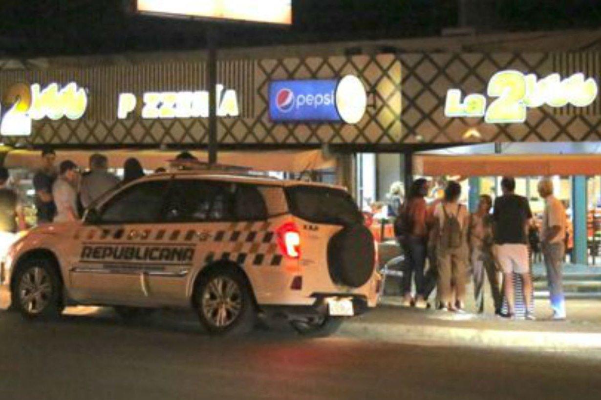 El asalto ocurrió este sábado por la noche.