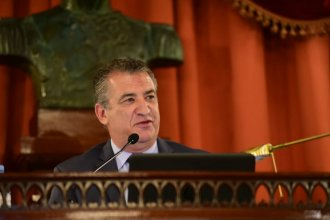 Sin definiciones sobre su futuro político, Urribarri se despidió de la Cámara de Diputados