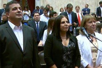 Hein sólo y Lena con los del Frente de Todos: así juraron los nuevos diputados nacionales por Entre Ríos