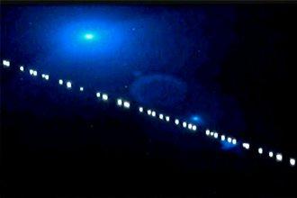 ¿Qué explicación dieron los especialistas a la fila de luces que iluminó el cielo nocturno entrerriano?