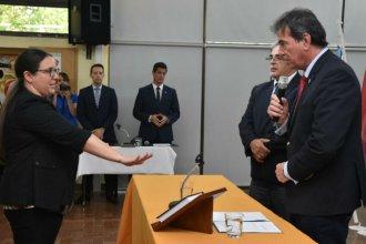 Tras serios cuestionamientos al concurso, juró la nueva jueza de Paz en Cerrito