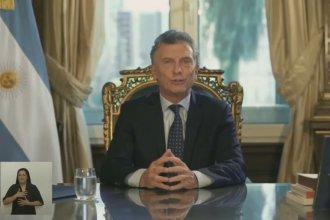 En cadena nacional, Macri hizo un balance de gestión y habló del país que recibe el próximo gobierno